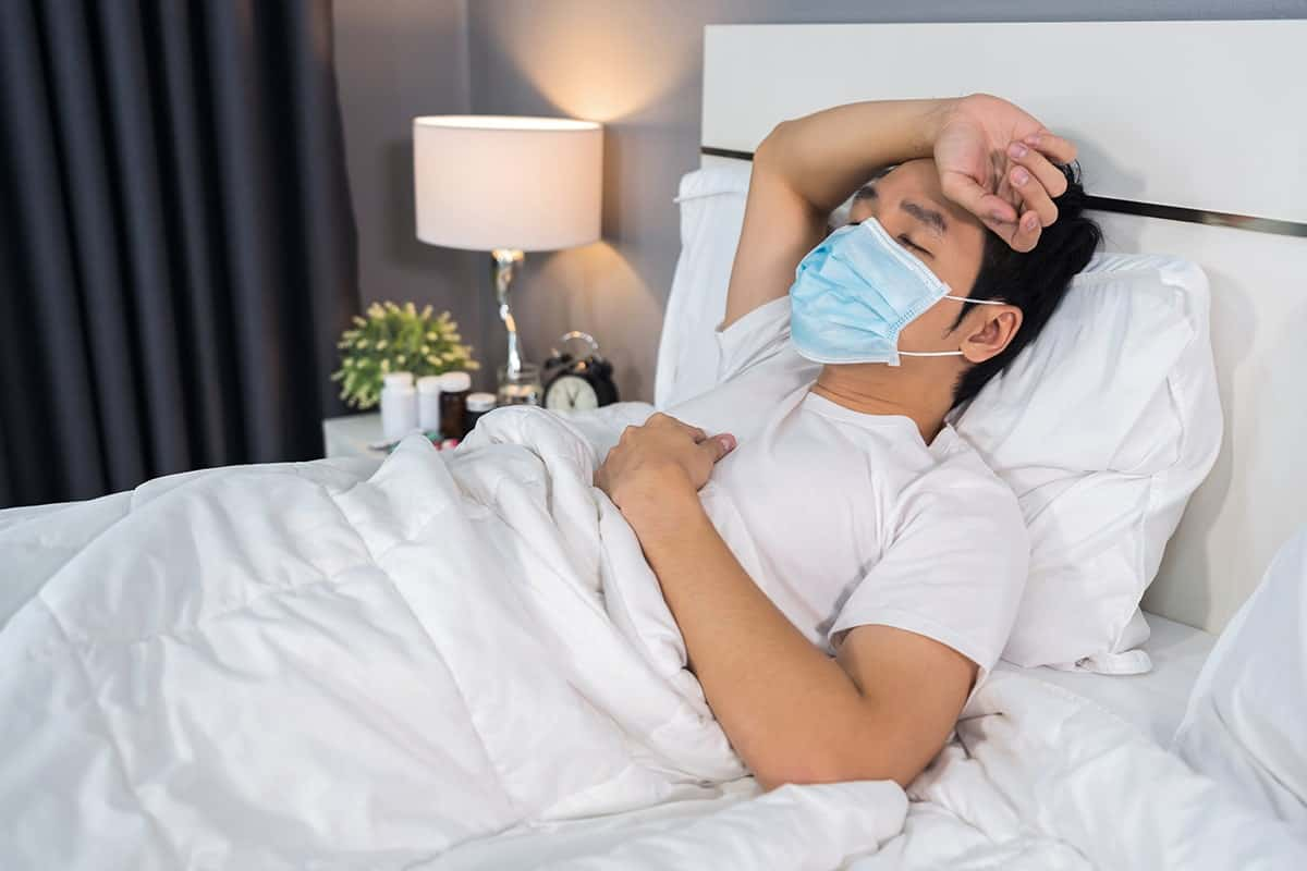 coronavirus patient cannot sleep