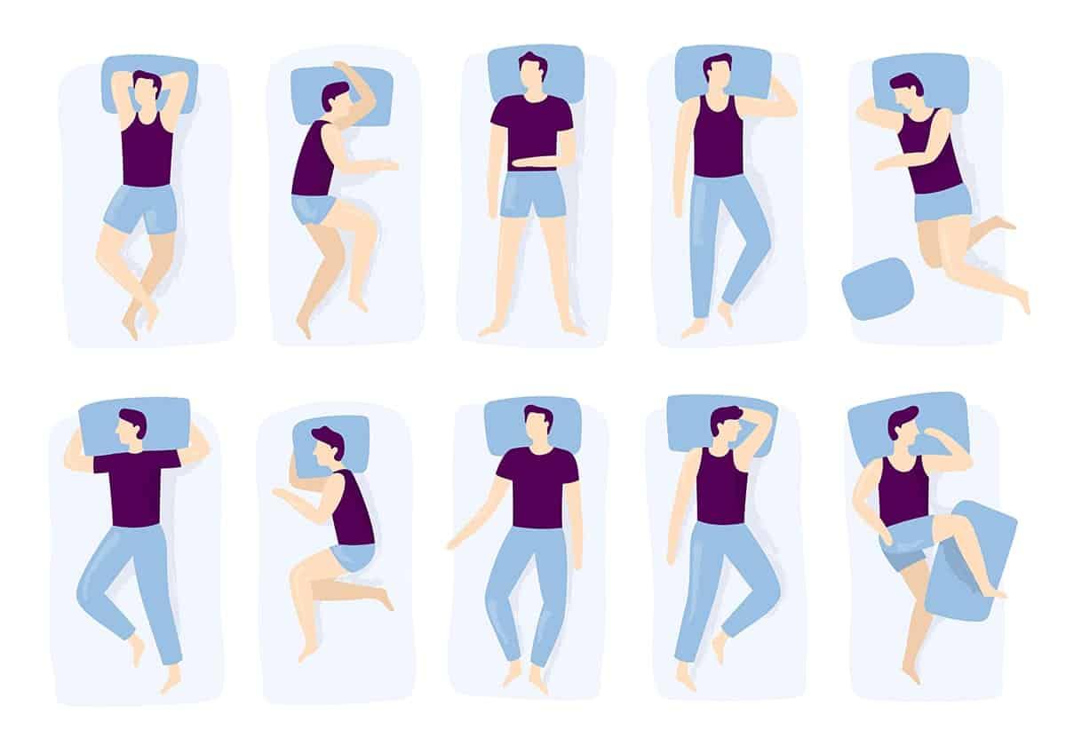 correct way to sleep on a pillow